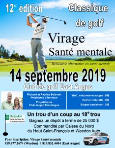 Affiche golf 2019