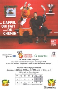 Campagne Nez Rouge 2019