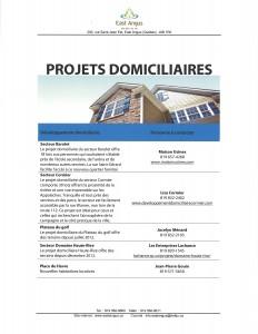 Projets domiciliaires