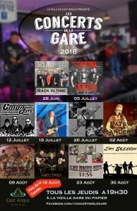 Concerts de la Gare