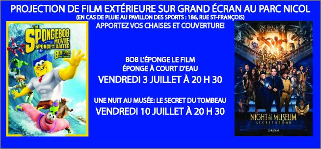 Projection de film 2015