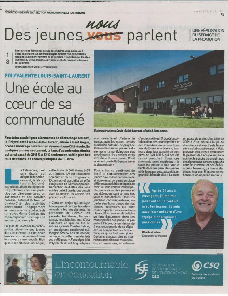 Polyvalente Louis-St-Laurent #1