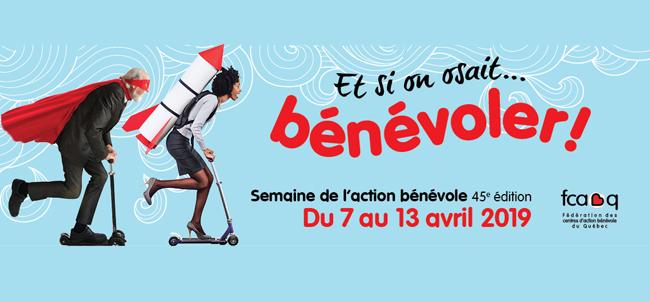 Semaine de l'action bénévole 2019