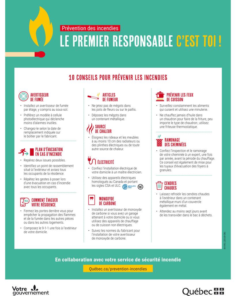 10 conseils pour prévenir les incendies - Prévention des incendi