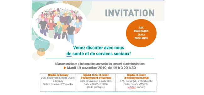 Invitation 19 novembre