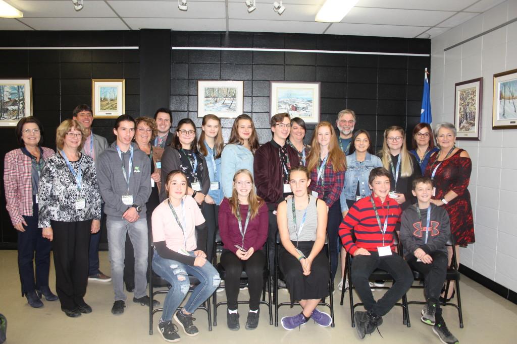 Parlement des jeunes au secondaire East Angus