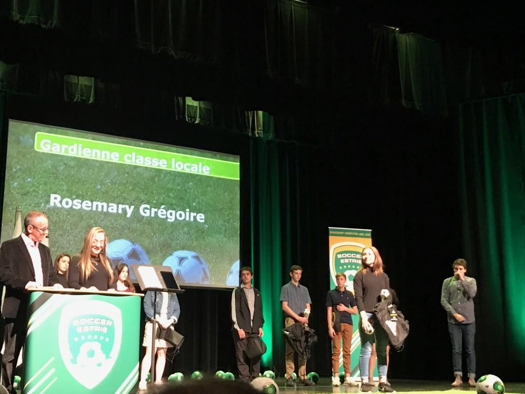 Rosemary Grégoire - Gala soccer annuel 2019