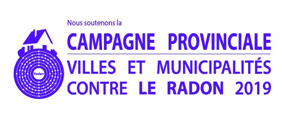 Signatures radon - pour municipalités participantes