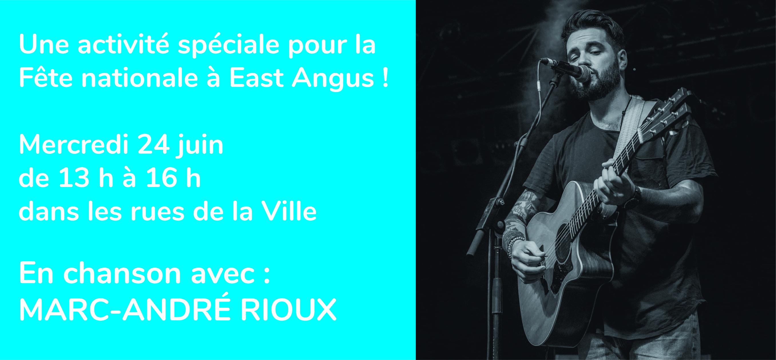 Marc-André Rioux - Pub