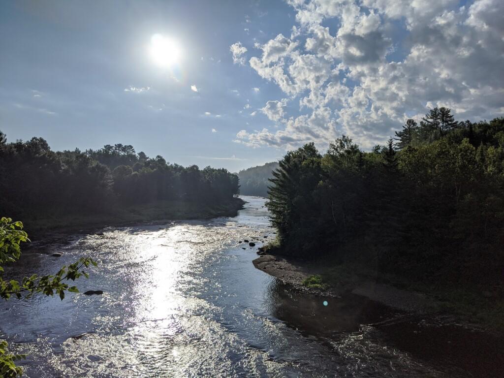 Parc des Deux Rivières de East Angus