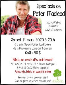Peter Macleod East Angus 14 mars 2020