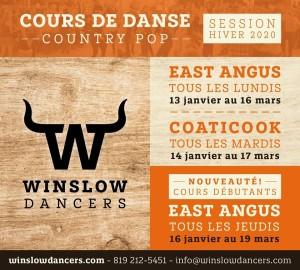 Winslow Dancers - Hiver 2020