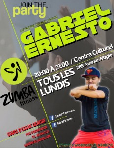 Flyer Zumba Fitness East Angus