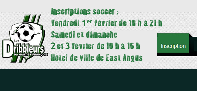 Inscriptions-soccer