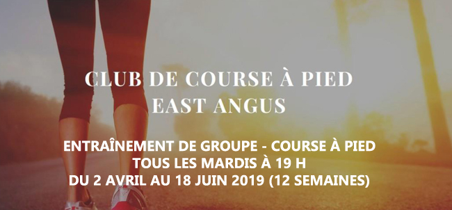 Course à pied East Angus