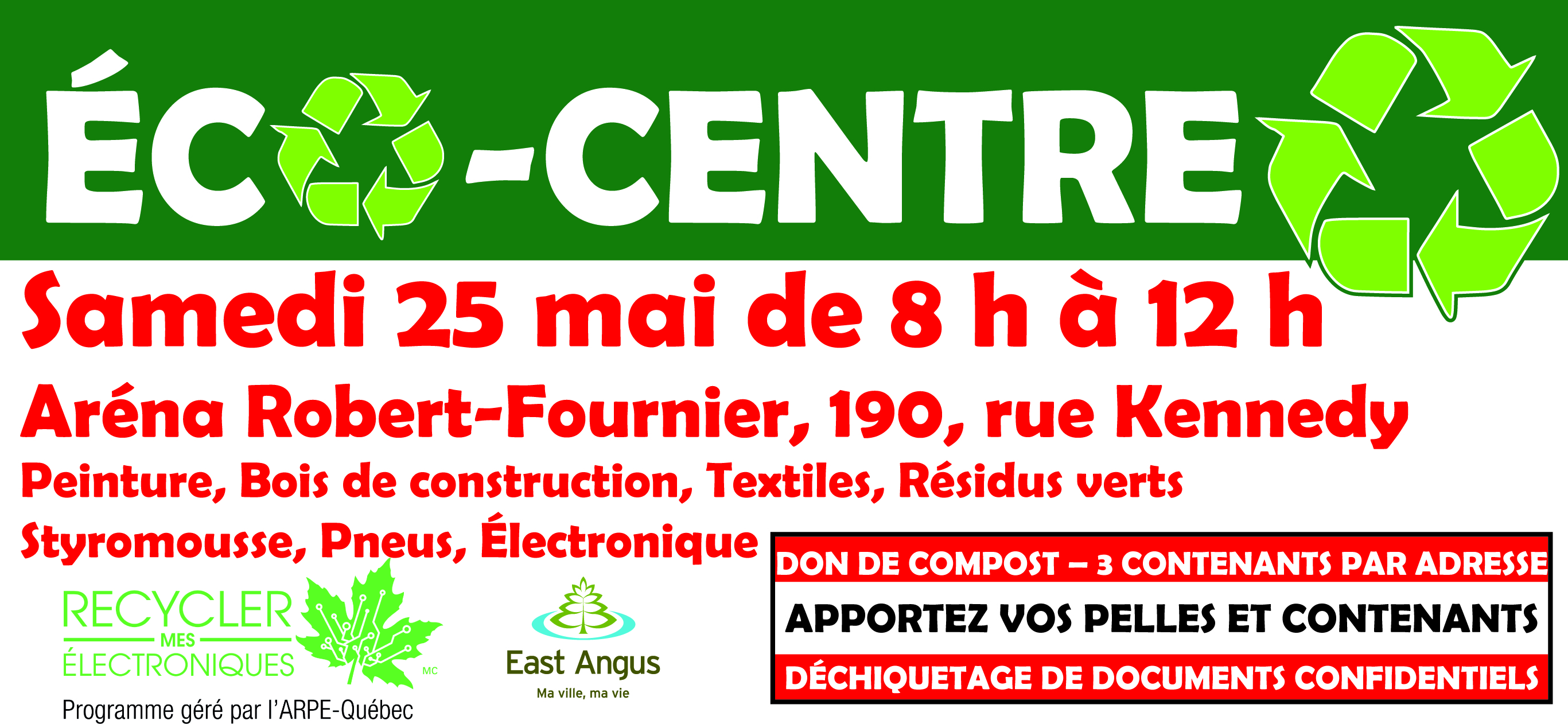 Écocentre mobile 2019
