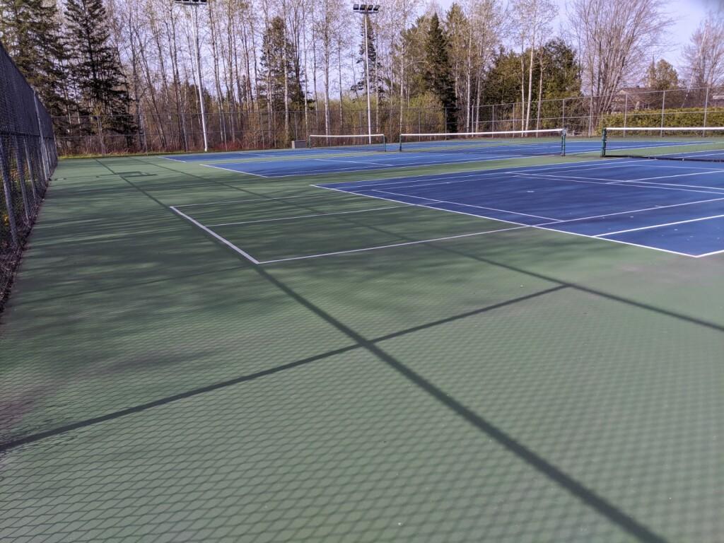 Terrains de tennis East Angus-