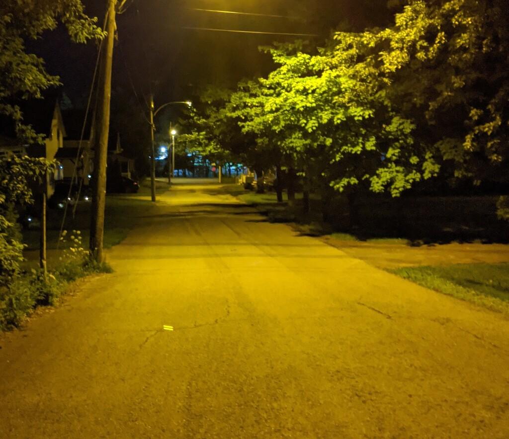 Éclairage de rue East Angus