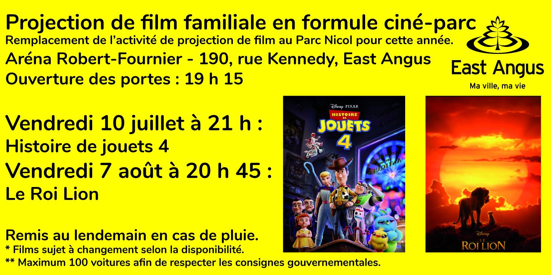 2020-07-03 - Projection de film - formule ciné-parc