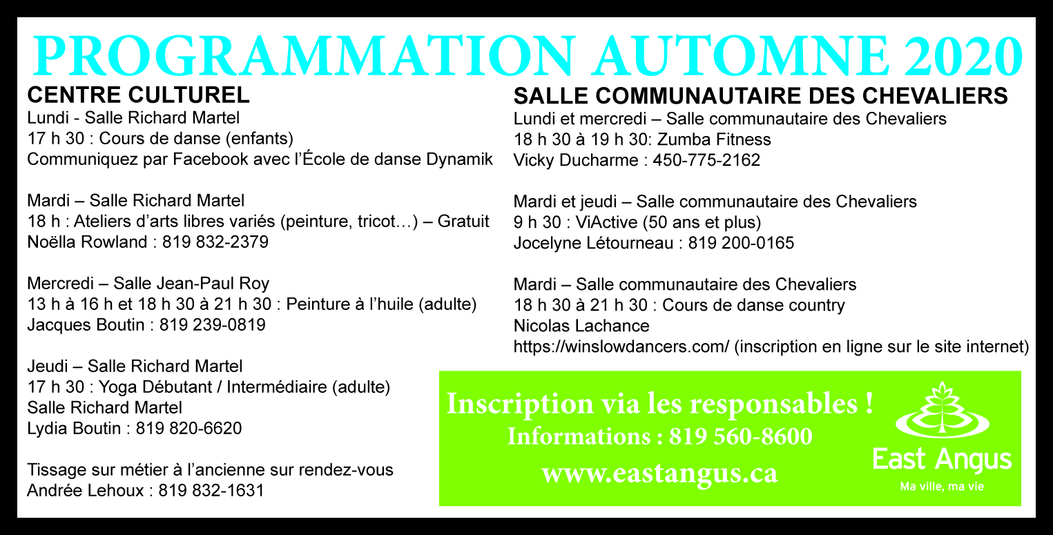 2020-09-02 - Inscriptions