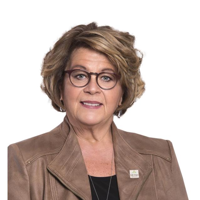 Lyne Boulanger - Mairesse de la Ville de East Angus pour les 4 prochaines années