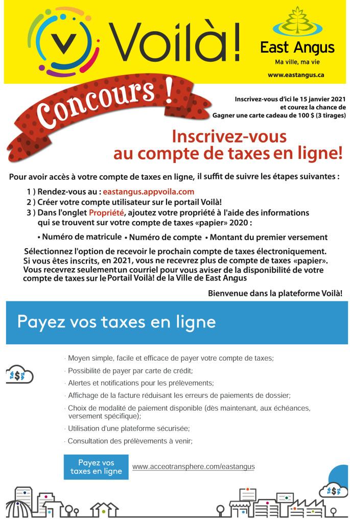 2021-01 - Envoi compte de taxes - Voilà !